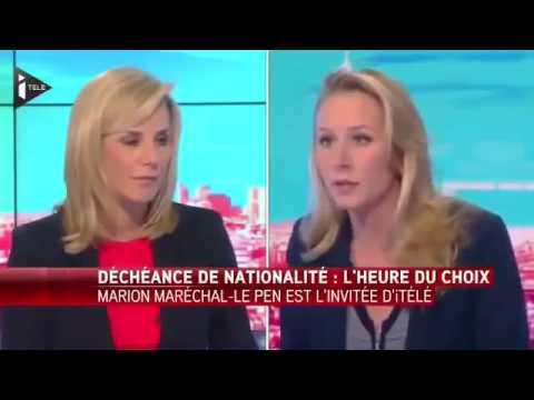 Marion Maréchal Le Pen démoliit laurence ferrari en direct