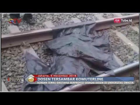 Ambil Handphone yang Jatuh, Dosen Wanita Tewas Ditabrak Kereta di Tanah Abang - BIP 07/11 Mp3