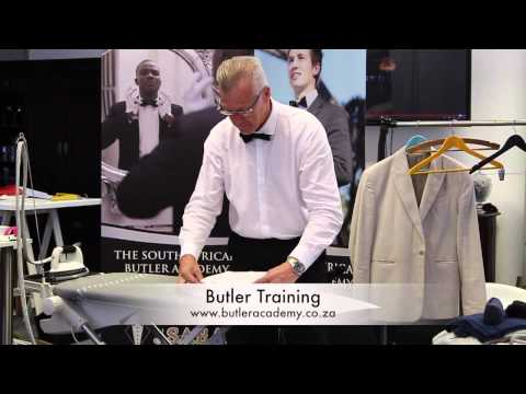 Laundry & Valet service | Butler Training
