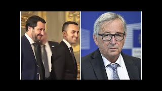 Italy's new populist bloc is sworn in as Deputy Prime Minister, saying displaced persons are a