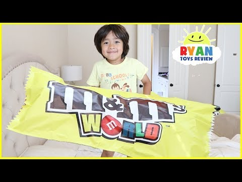 Thumbnail: GIANT M&M attack Bad baby Johny Johny Yes Papa Song Nursery Rhymes Songs for Kids & Learn Colors