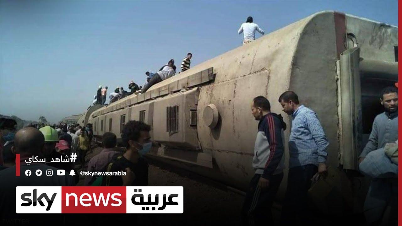 11 قتيلا وعشرات الجرحى بحادث قطار المنصورة في مصر  - نشر قبل 4 ساعة