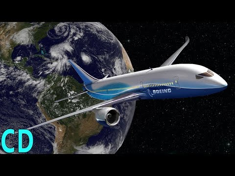 Why can't we fly a plane into space ?