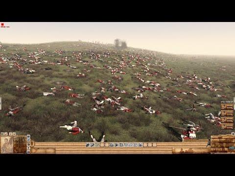 HUGE BATTLE ! UK vs USA Battle for the Hill 1776