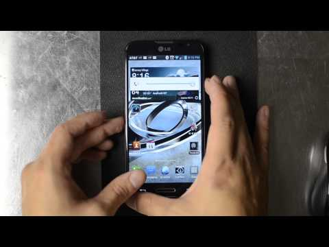 How to Take a Screenshot with the LG Optimus G Pro
