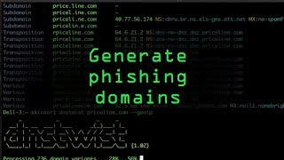 Generate Phishing Domains Easily with Dnstwist [Tutorial]