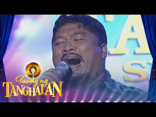 Tawag ng Tanghalan: Dominador Alviola Jr. | May Bukas Pa (Round 5 Semifinals)