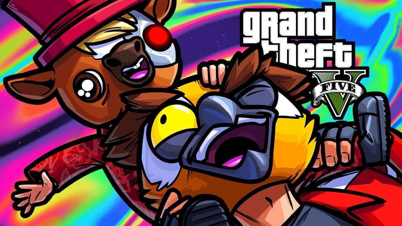 Download GTA5 Online Funny Moments - Van Unit Heist!