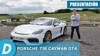 Porsche 718 Cayman GT4 2019 | Primera prueba | Review en español | Diariomotor