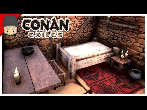 CONAN EXILES - INTERIOR DECORATION!