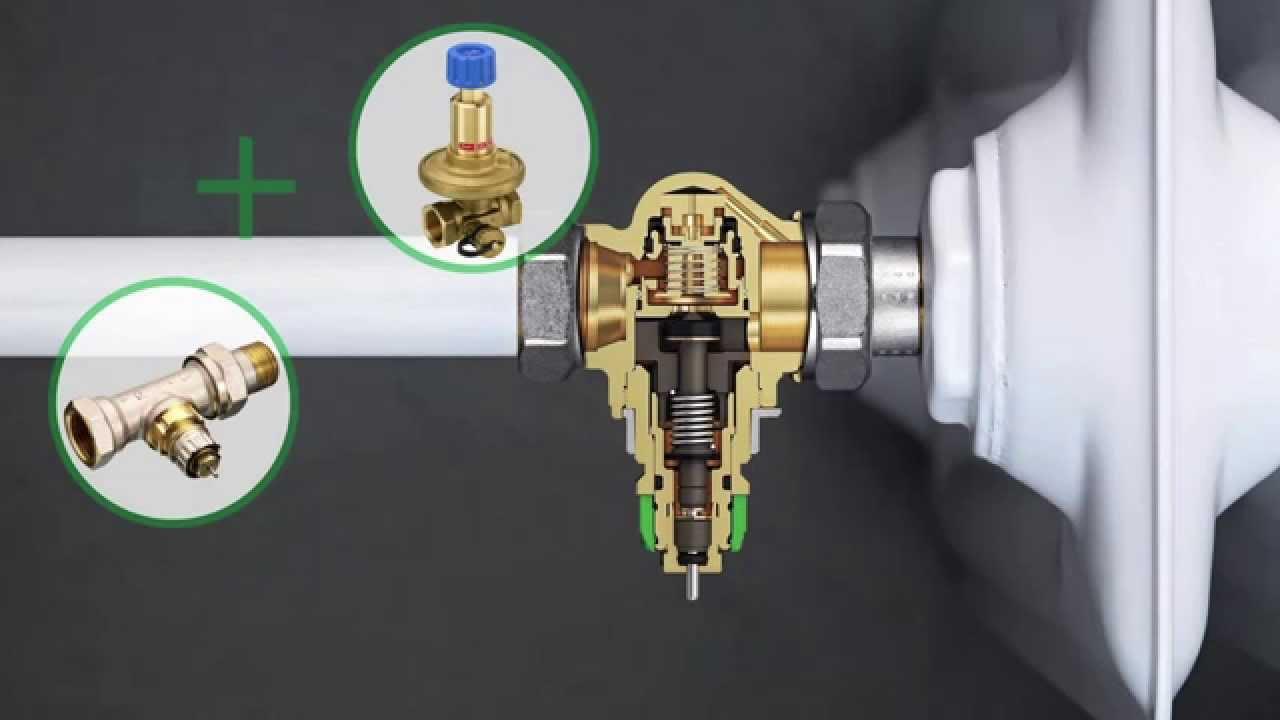 Danfoss dynamic valve v lvula termost tica con - Valvula termostatica radiador ...