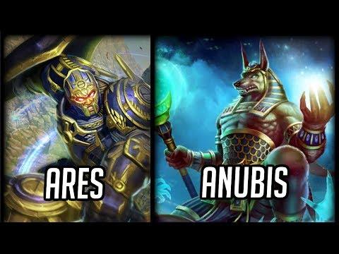 Ares vs Anubis