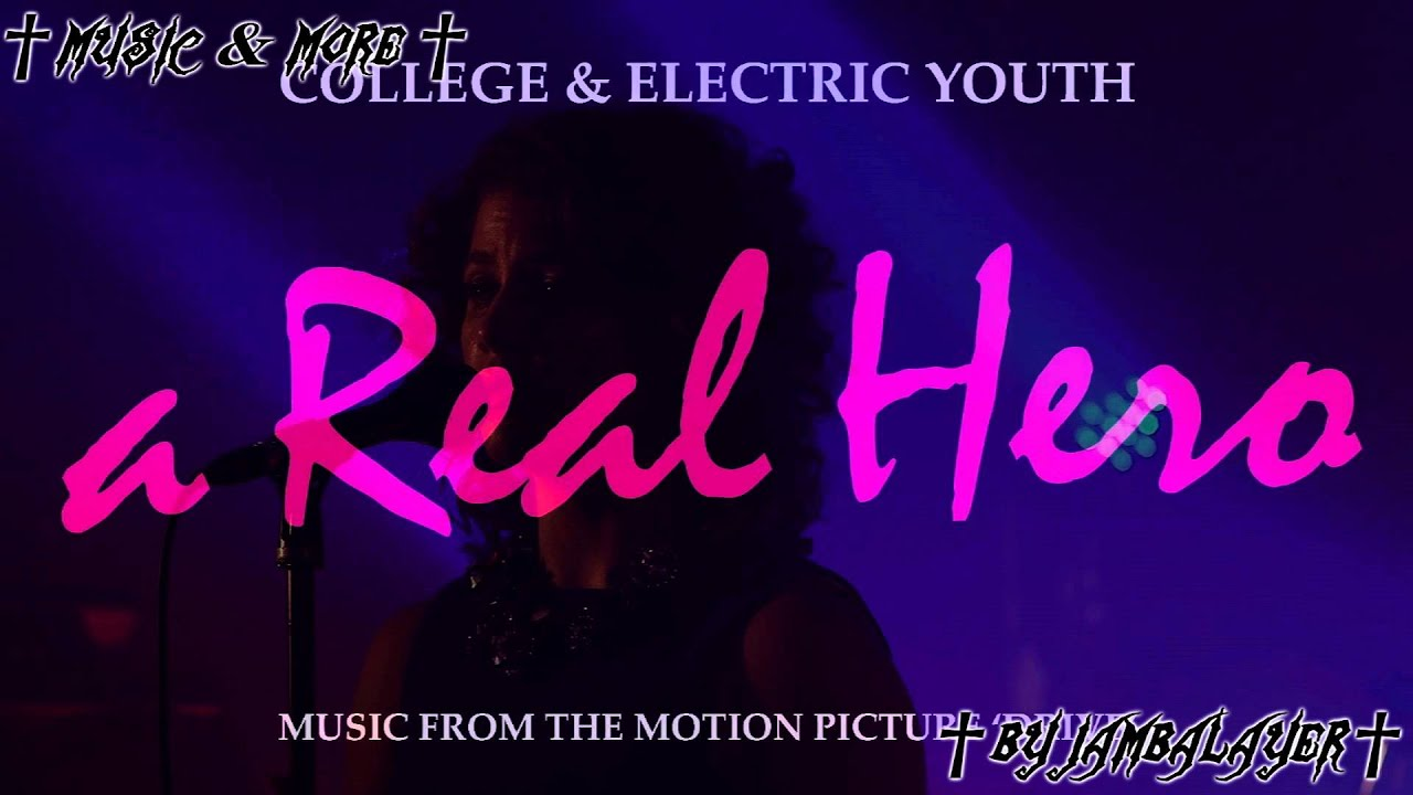Download College feat. Electric Youth - A Real Hero (Official Instrumental)