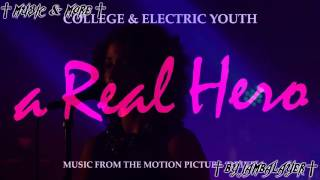 Скачать College Feat Electric Youth A Real Hero Official Instrumental