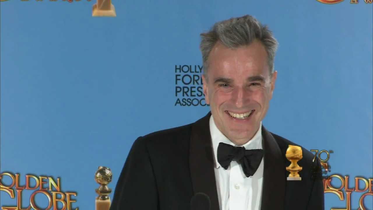Daniel Day Lewis Backstage Interview Golden Globes
