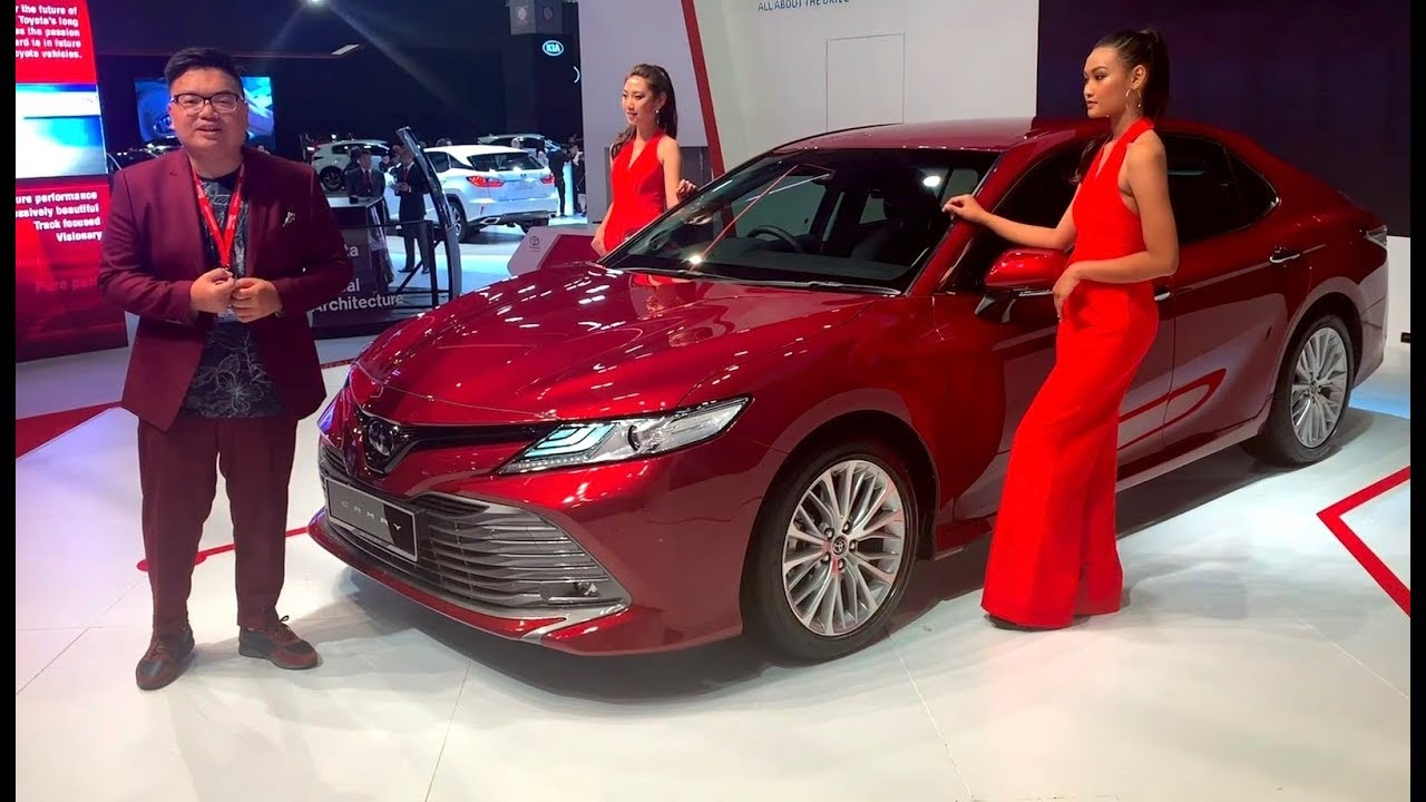klims18  2019 toyota camry in malaysia - carry-over 2 5l engine  rm190k