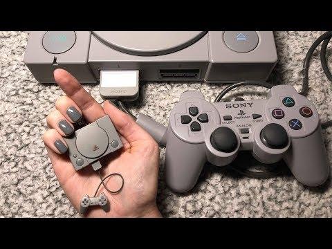 ASMR Miniature PlayStation One (Whispered)