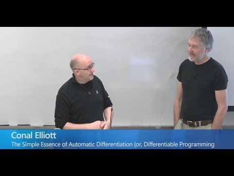The Simple Essence of Automatic Differentiation - Conal Elliott