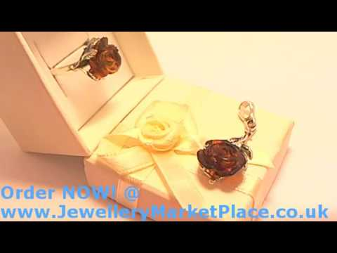 Amber Etc Ltd Live Stream Silver Rose Jewellery Collection with Amber