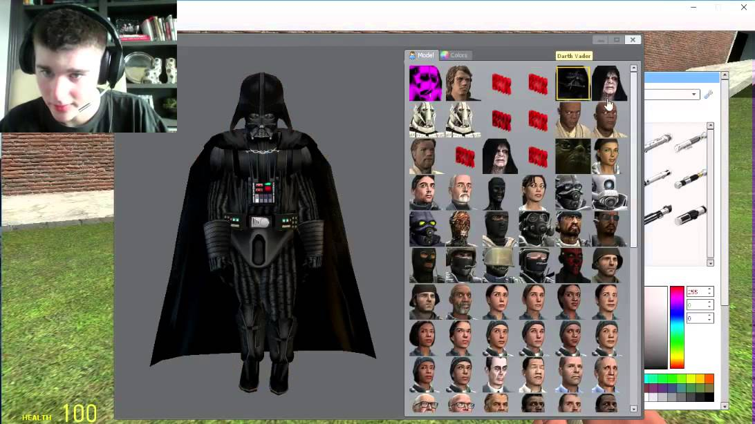 Garry's Mod: Jedi and Sith Playermodels!