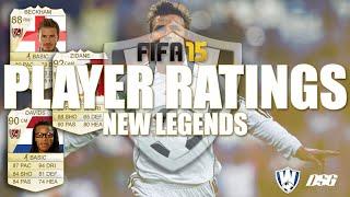 FIFA 15 Legends | Beckham, Zidane & Davids