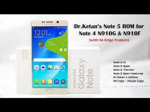 Dr Ketan's S7E Rom for Note 4-MM Dr Ketan ROM XDA N910G+F
