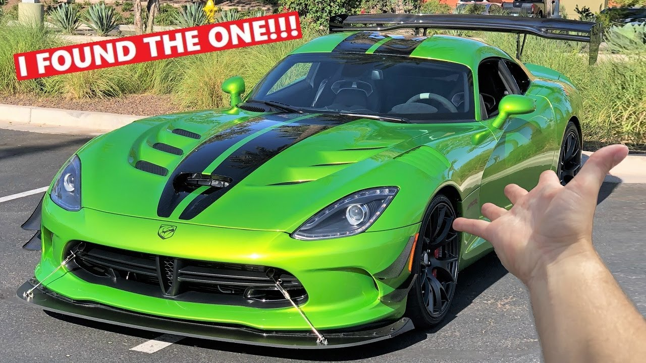 """Making an Offer On a SUPER RARE 1/31 """"SNAKE SKIN"""" VIPER ACR!!! *From Arizona*"""