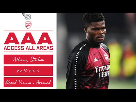 ACCESS ALL AREAS | Rapid Vienna vs Arsenal (1-2) | Europa League