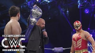 Triple H reveals the new WWE Cruiserweight Championship: Cruiserweight Classic Live Finale