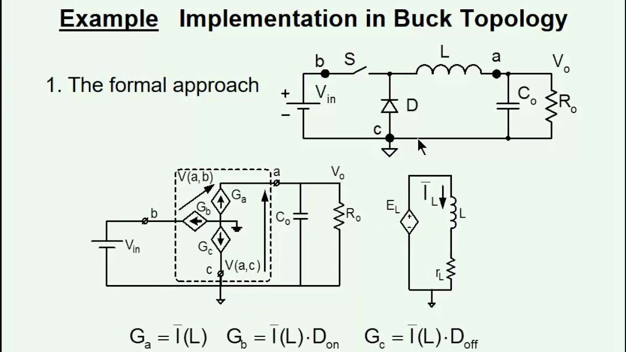 Average Modeling And Simulation Of Pwm Converters Youtube Circuit Diagram A Typical Power Factor Correction Boost Converter