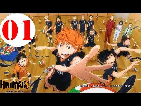 Haikyuu Season 2 Ep 1 English Dub