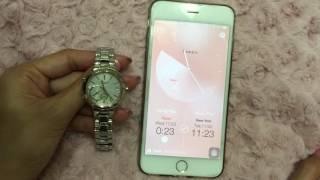 藍芽錶款兩地時區切換 簡易操作影片 casio sheen shb 200