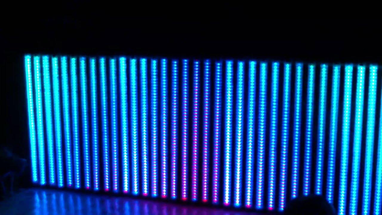 digital led rgb music tubes crystal wall youtube digital led rgb music tubes crystal wall