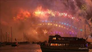 New Years Fireworks Sydney Harbour