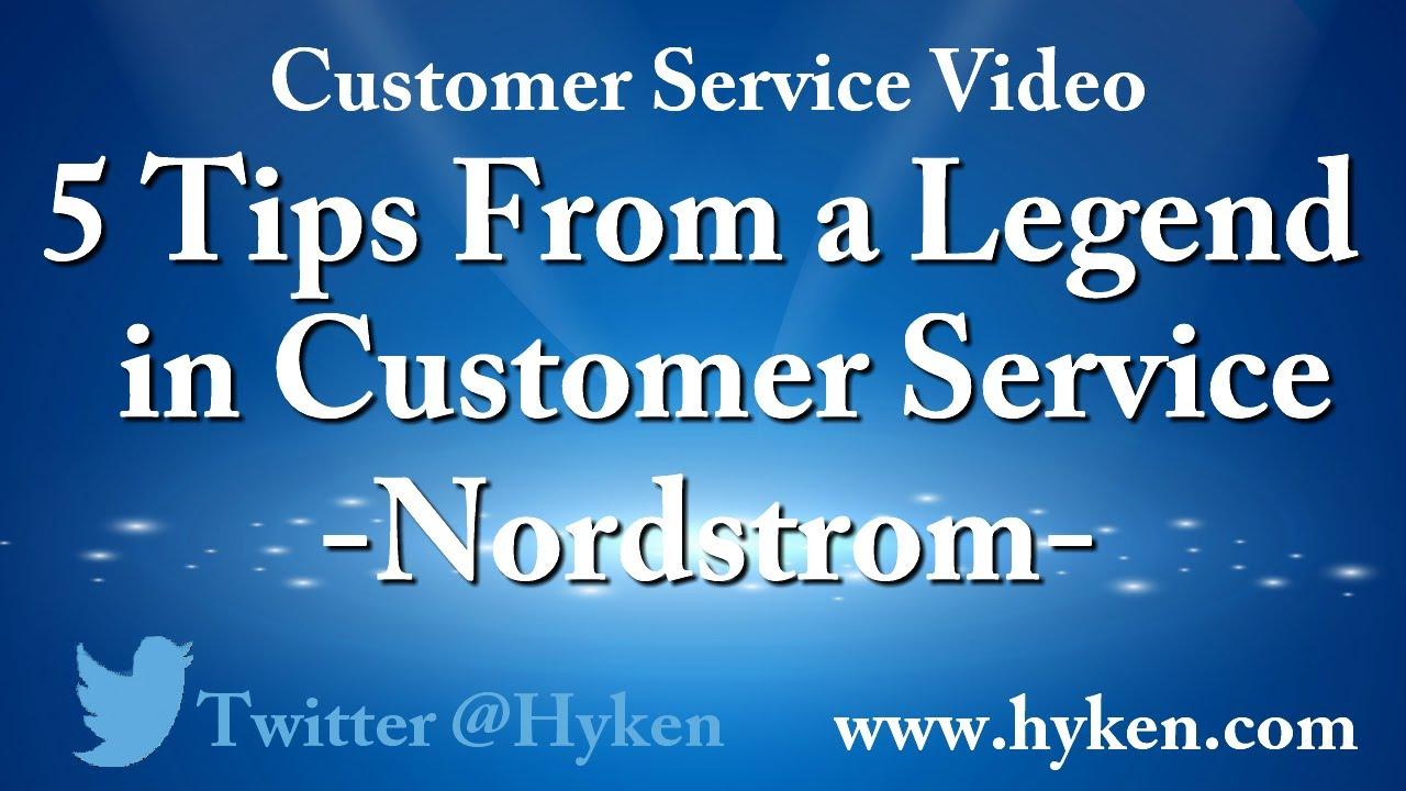 de0051e2f6a Nordstrom Customer Service Tips - YouTube