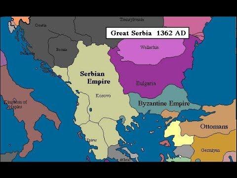Istorijske Karte Srbije Youtube