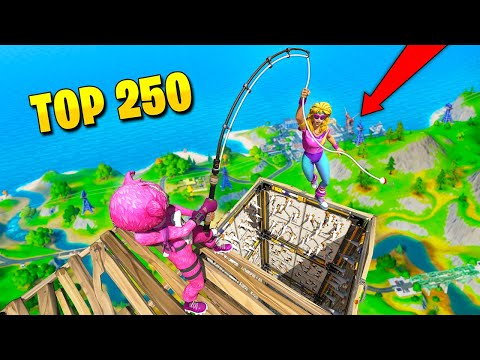 TOP 250 FUNNIEST FAILS IN FORTNITE (Part 2)