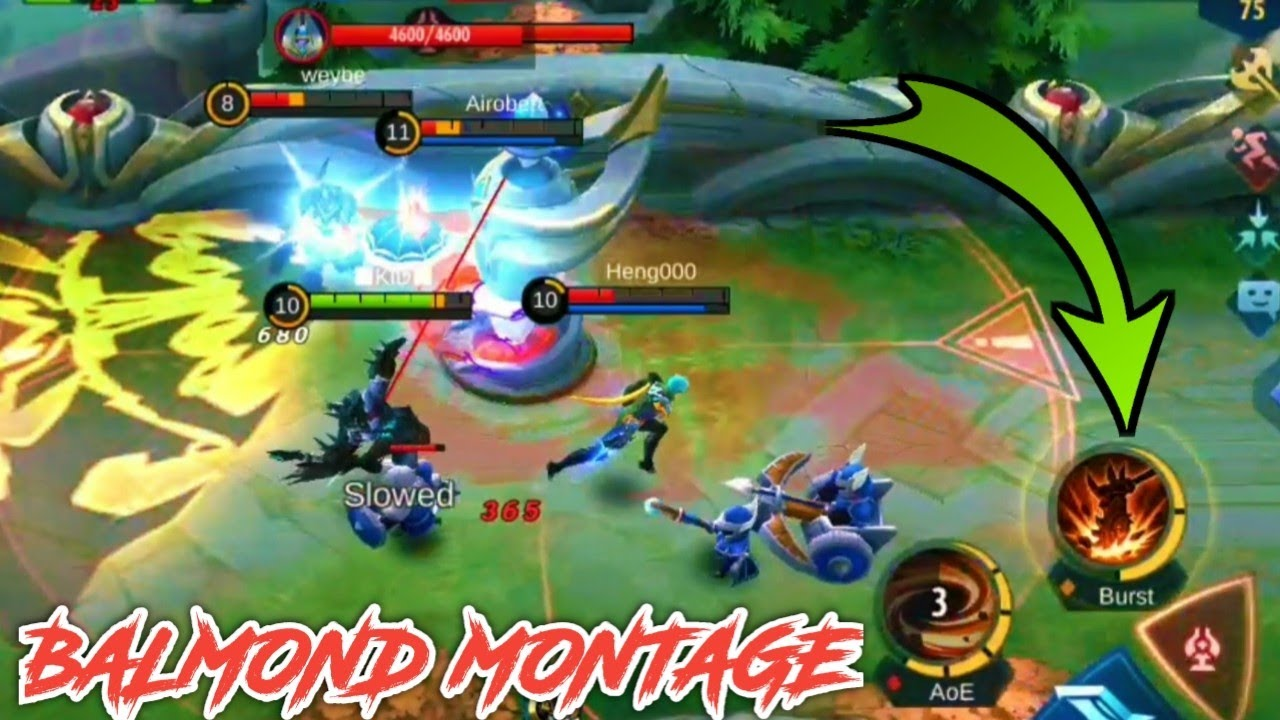 BALMOND IS THE NEW OP FIGHTER 🔥🔥🔥 MONTAGE (from Subscriber)|  UNBAN MOBILE LEGENDS IN INDIA 🙏