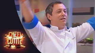 Chef Sorin Bontea îi cântă lui Chef Cătălin Scărlătescu