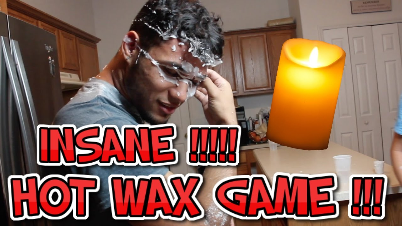 Hot Candle Wax Challenge