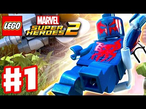 LEGO Marvel Super Heroes 2 - Gameplay Walkthrough Part 1 - Guardians of the Galaxy