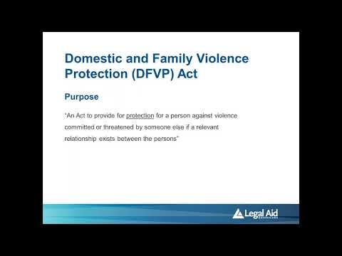 Domestic and family violence – Updates on the law: connecting your clients to LAQ's services