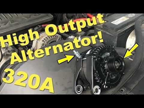 320a Alternator Upgrade!