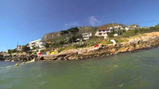 Fabulous Fish Hoek -  Shark Net Swim January 2014