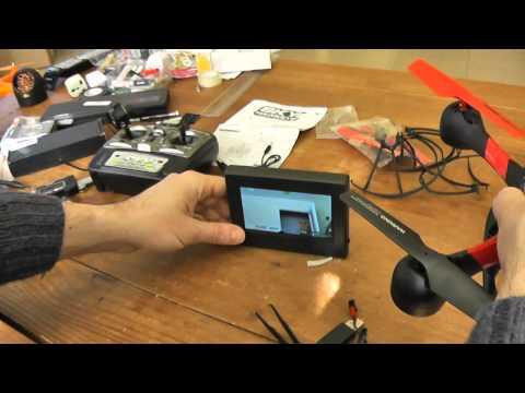 Дрон Sky HawkEye HM1315S с 5.8G FPV монитор за гледане в реално време 24