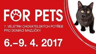 Veletrh FOR PETS 2017
