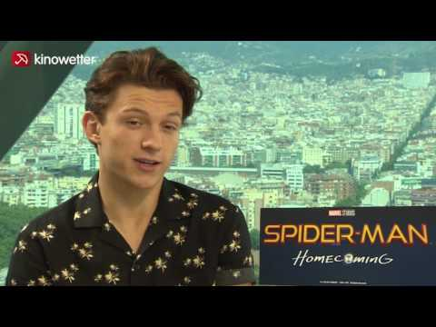 Interview Tom Holland SPIDER-MAN: HOMECOMING