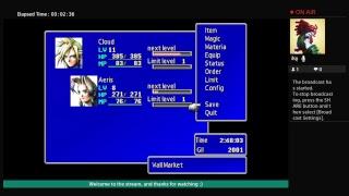 Final Fantasy 7 playthrough