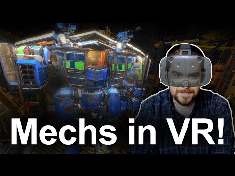This VR Mech game is shaping up to be a Must Buy - Vox Machinae on HTC Vive