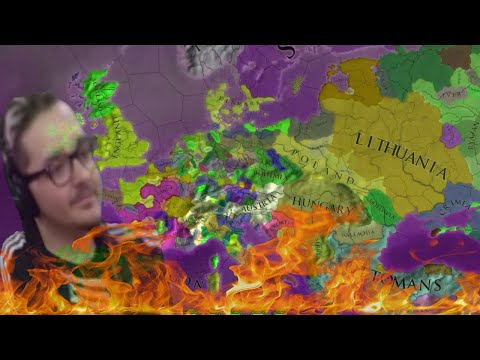 My first time Playing EU4 was a Disaster |